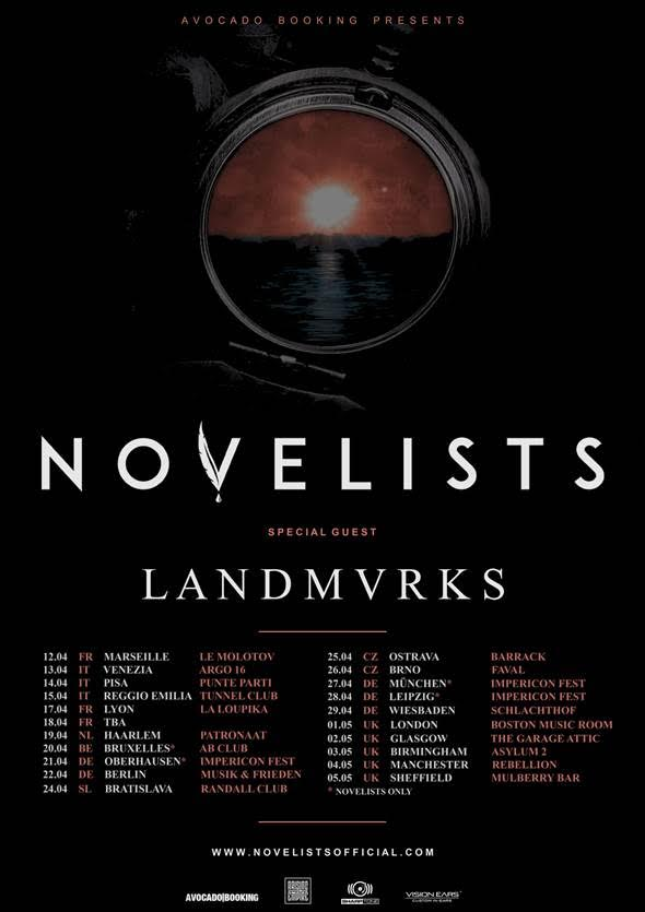 Novelists 2018 uk tour